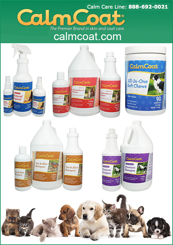 Calm Coat Grooming Products