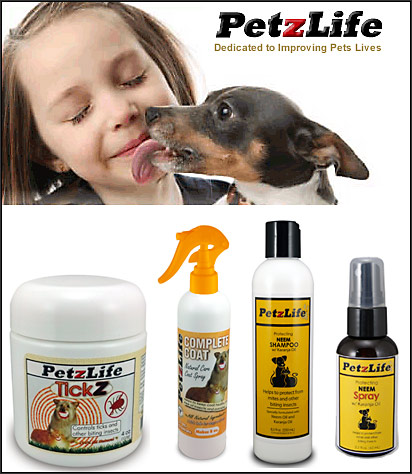 PetzLife Flea Control for Dogs