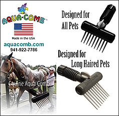 Aqua Comb Pet Groomer and Wash