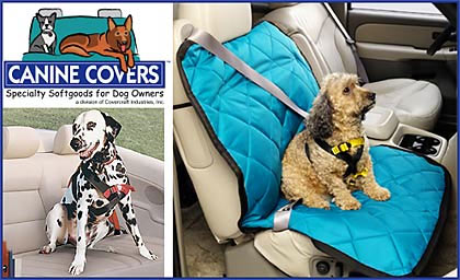 canine covers car seat protection