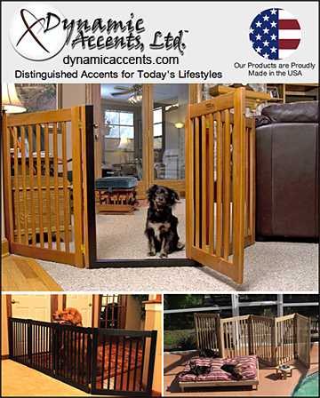 Dynamic Accents, Ltd. Dog Containment Gates