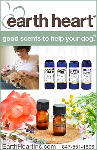earth heart good scents to help your dog.