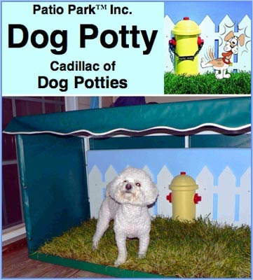 Patio Park Dog Potty